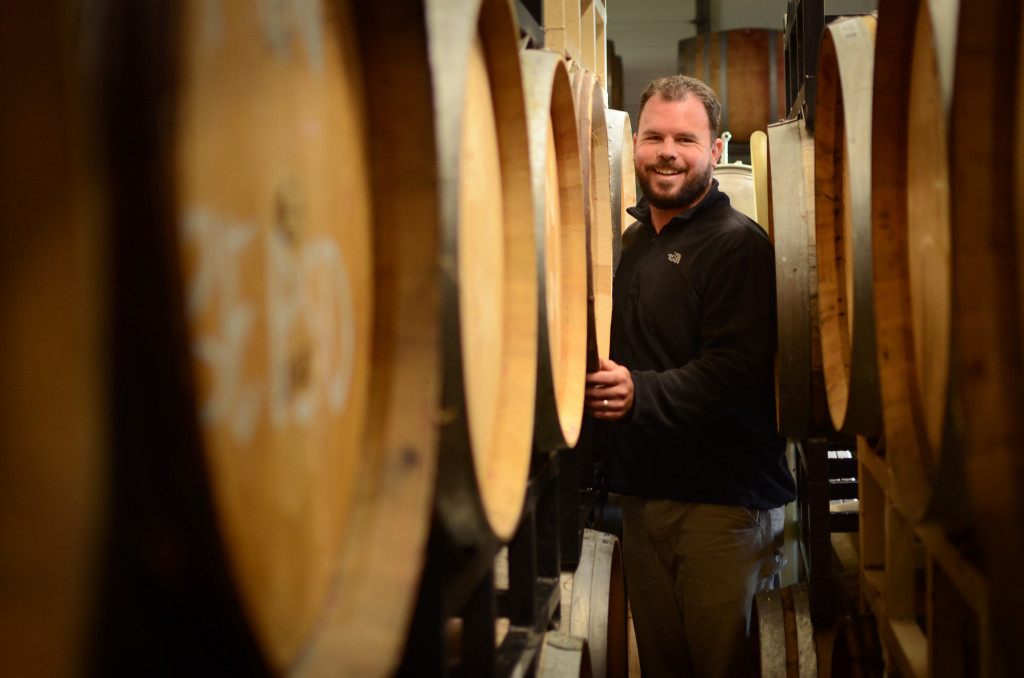 Chad Stock, Minimus Wines. Photo Credit: Winery Source