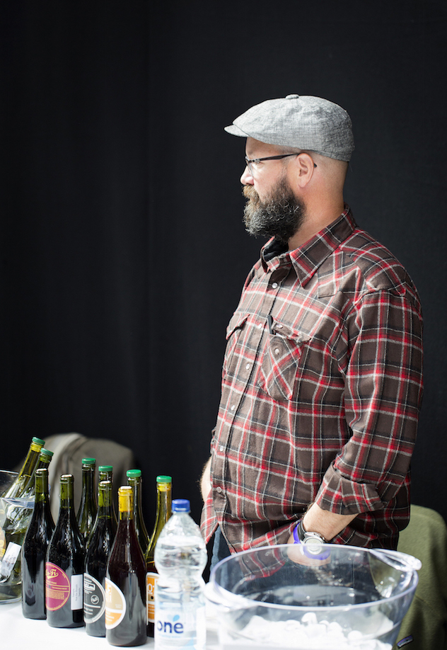 Mike Roth at the Real Wine Fair 2016